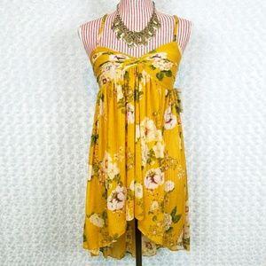 Free People Mustard Dress/Shirt